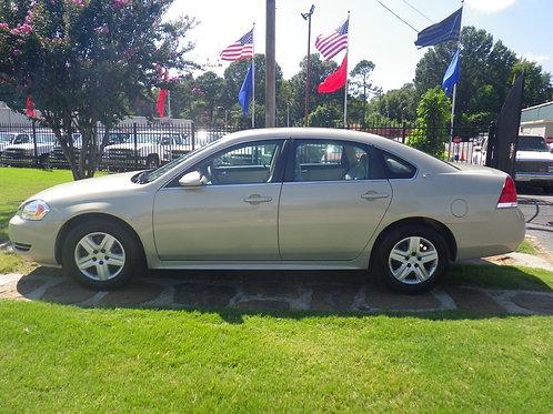 2008 Chevrolet Impala Gold