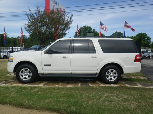 2008 Ford Expedition White