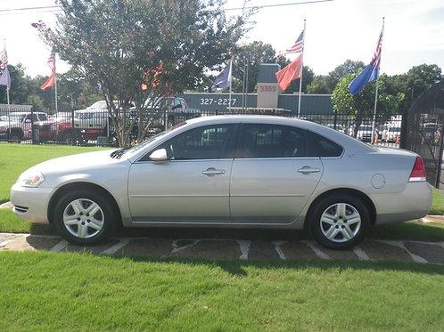 2007 Chevrolet Impala Silver