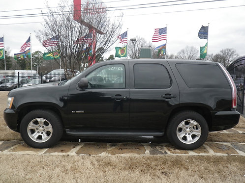 2011 Chevrolet Tahoe Black