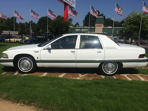 1995 Buick Roadmaster White