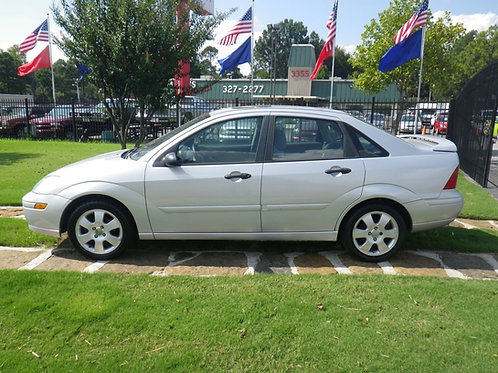2002 Ford Focus ZTS Silver
