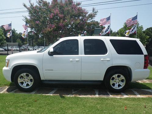 2007 Chevrolet Tahoe White