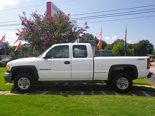 2006 GMC Sierra White