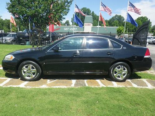 2007 Chevrolet Impala Black