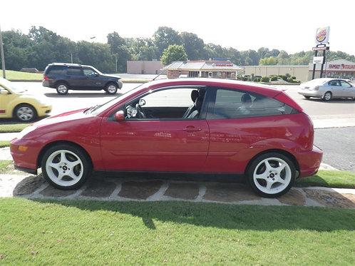 2003 Ford Focus SVT Red
