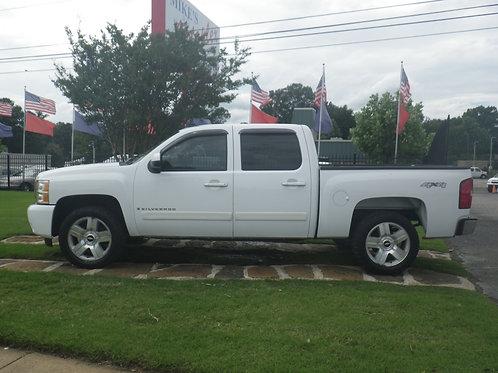 2008 Chevrolet Silverado White (6074)
