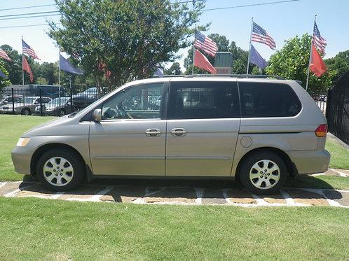 2004 Honda Odyssey Gold