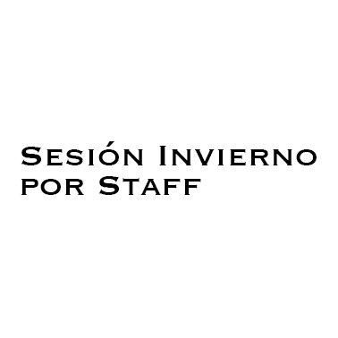 Sesion por Staff Invierno 2020