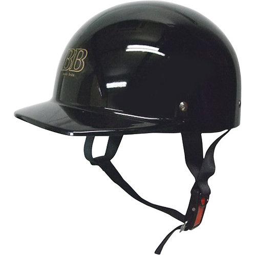 ヘルメットハーフ黒