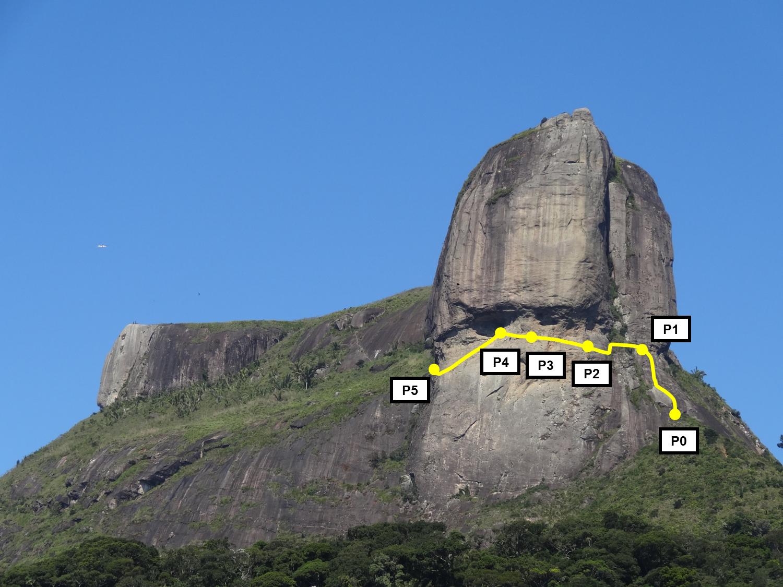 Pedra da Gávea - Passagem dos Olhos