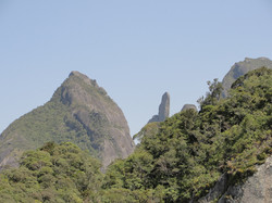 Agulha vista do Morro da Cruz