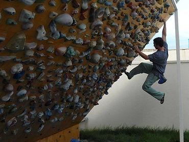 muro de escalada indoor