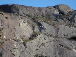 Escaladores no Paredão Paraguaio