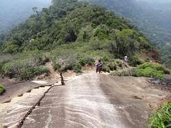 Escadaria do cume do Pico da Tijuca