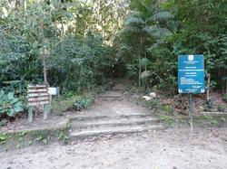 Entrada das trilha