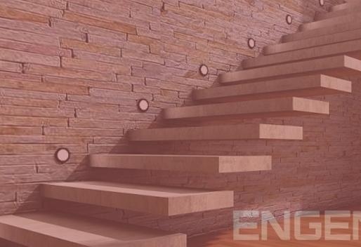 Como construir uma escada confortável