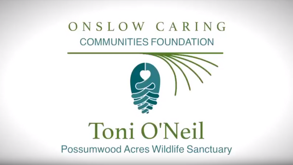 Toni O'Neil - Director of Possumwood Acres Speaks About OCCF Grant