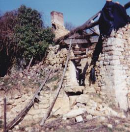 Moulin - Façade avant - Mars 1992