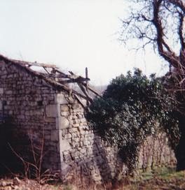 Moulin - Façade arrière - Mars 1992