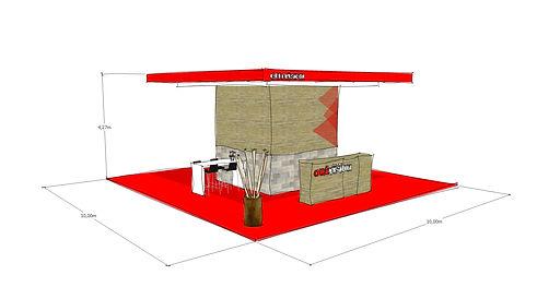 stand salon foire 3d