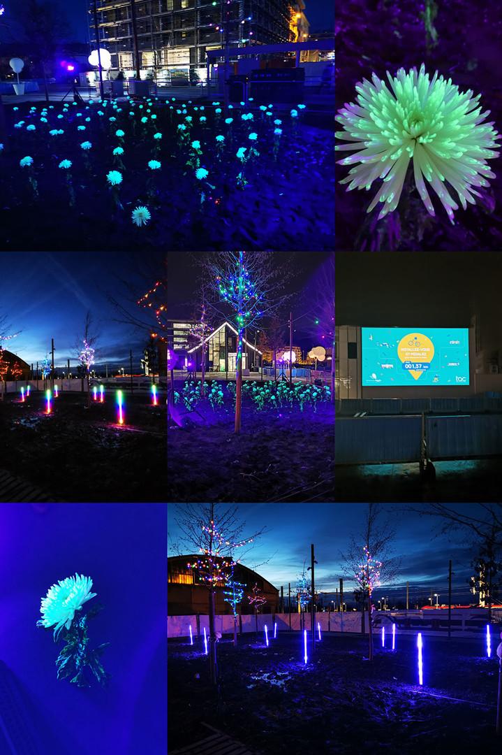 Installations lumineuses - Annemasse Agg
