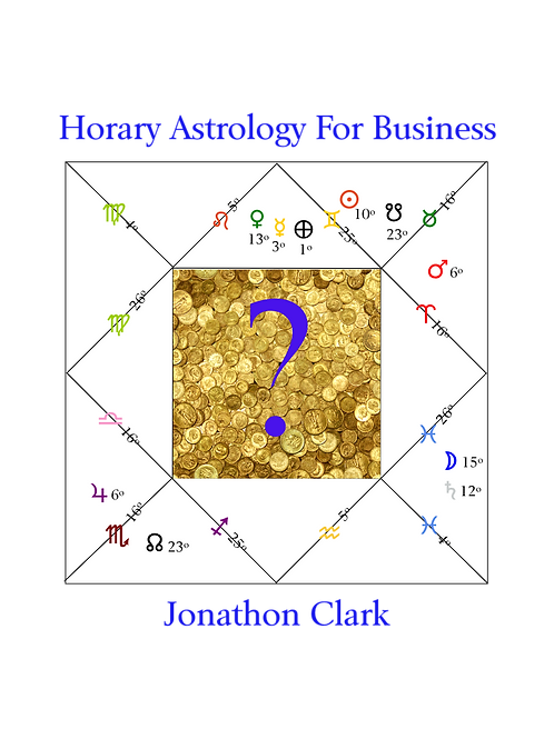 Horary Astrology For Business