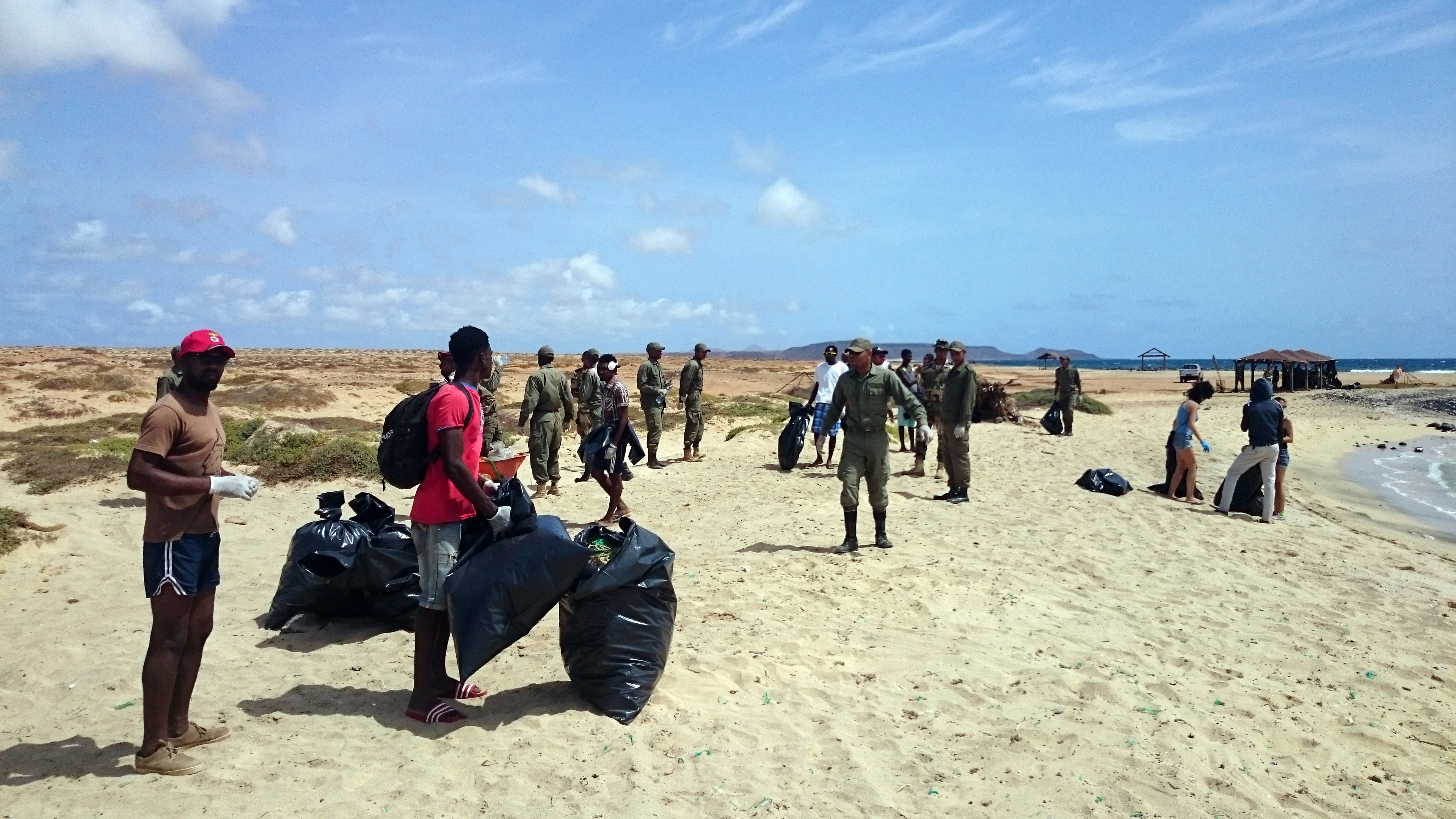 Beach Cleaning at Igrejinha