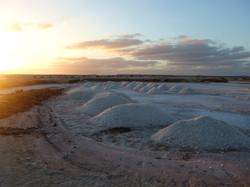 Salt mines at Santa Maria
