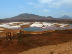 Salt mines at Pedra de Lume