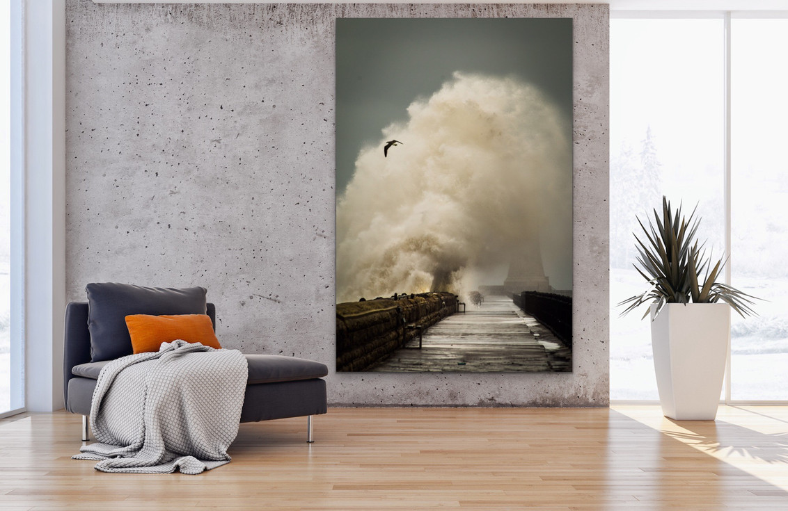 Tynemouth Pier Waves