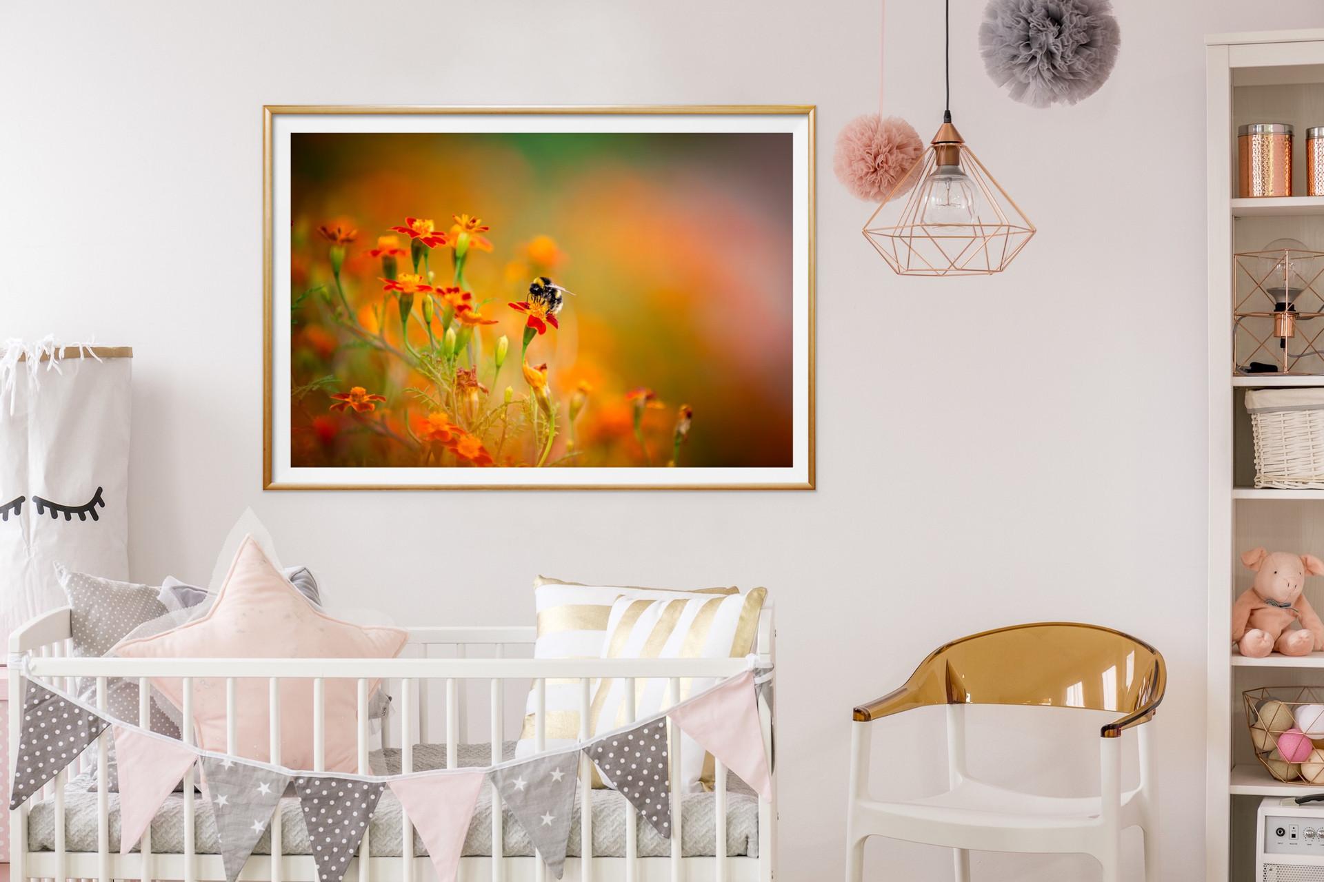 Marigold Bumblebee