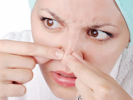 Угревая сыпь - растут ли на носу грибы?