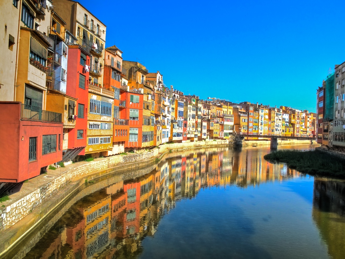 Жирона. Каталония. Испания.