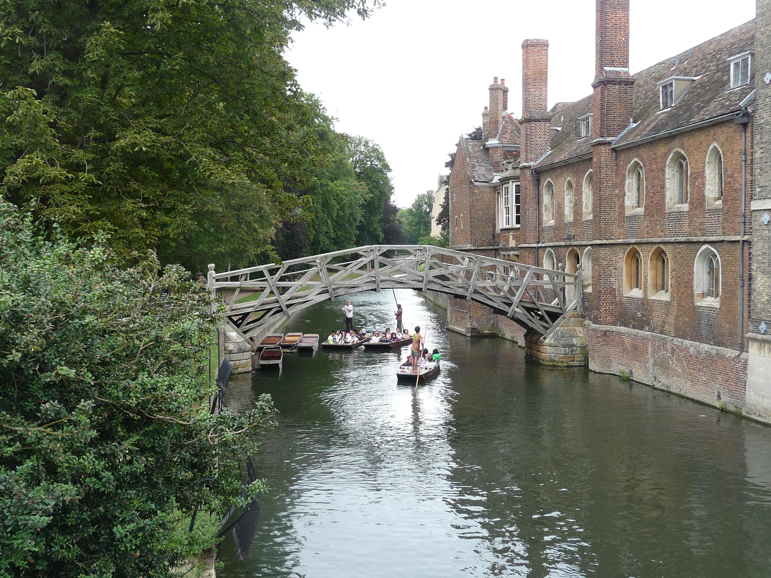 Англия. Кембридж. Математический мост.