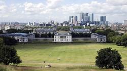 Панорама Лондона из Гринвича
