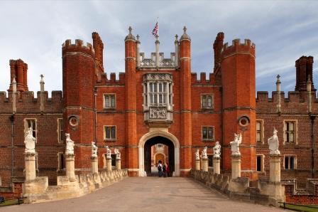 Ворота Дворца Хэмптон Корт
