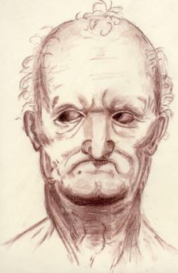 da Vinci study, Nupastel