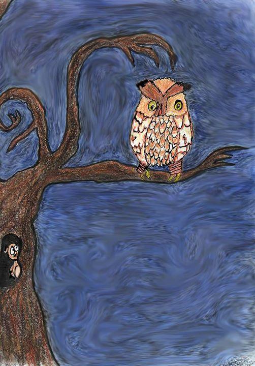 Owl & Herman