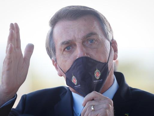 Covid 19: Justiça de Brasília obriga Bolsonaro a usar máscara em locais públicos