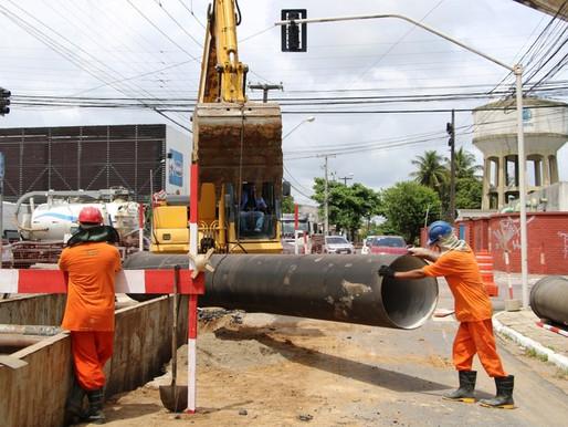 Cagepa suspende neste domingo o abastecimento de água em 11 bairros e comunidades de João Pessoa