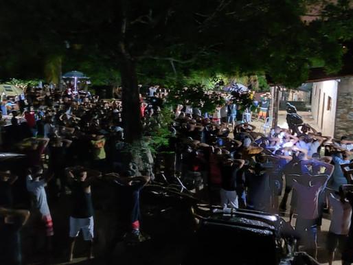 Festa de torcida com mais de mil pessoas é estourada pela Policia