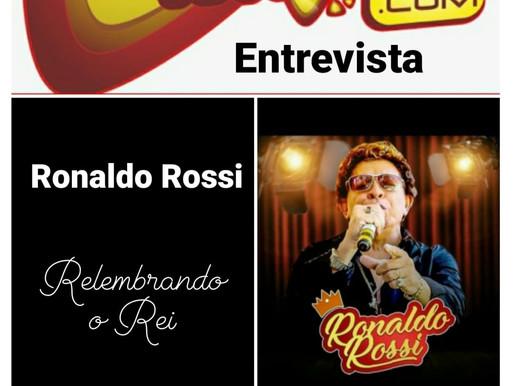 Cantor Ronaldo Rossi concede entrevista nesta quinta(10) à Rádio Americana..