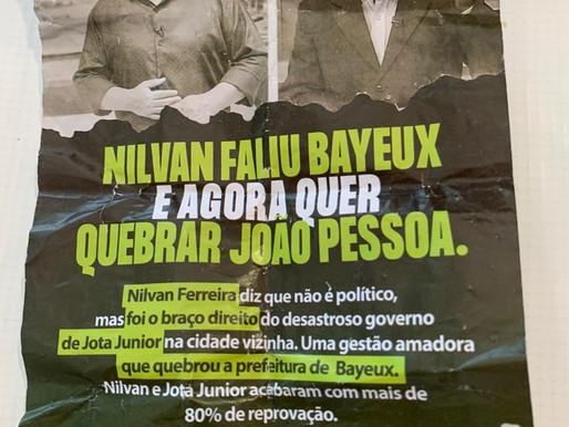 Nilvan Ferreira sofre ataque anônimo com panfletos apócrifos e PF é acionada