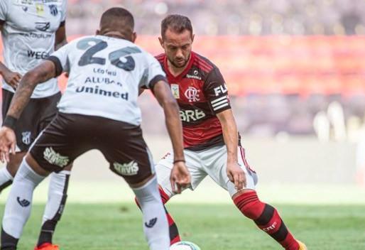Flamengo perde para o Ceará no maracanã e pressão sobre o time aumenta