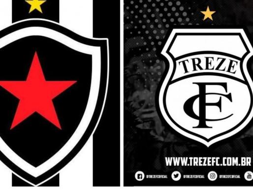 """Botafogo e Treze, """" O clássico tradição da queda"""" vai ficar na historia de ambos."""