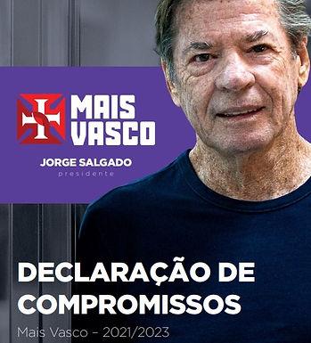 Novo Presidente do Vasco elenca 15 ações imediatas para melhorar o clube
