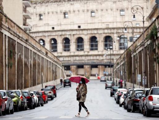Covid 19: Itália registra o maior número de óbitos por Covid desde 2 de maio e alerta o mundo