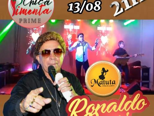 Cantor Ronaldo Rossi volta a João Pessoa para um show especial