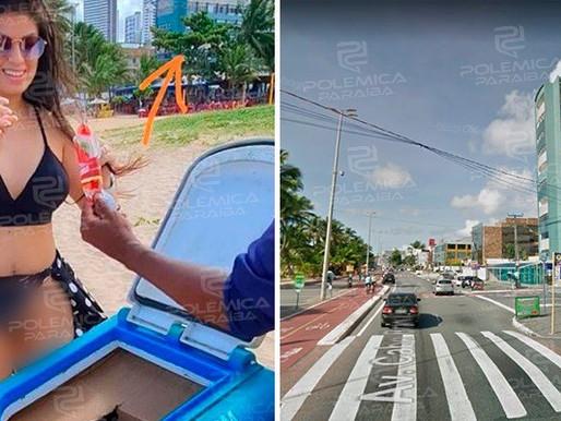 Mulher que andou pelada em transporte por aplicativo em praias de João Pessoa vai responder